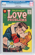 Golden Age (1938-1955):Romance, True Love Problems and Advice Illustrated #34 File Copy (Harvey,1955) CGC NM 9.4 Cream to off-white pages....