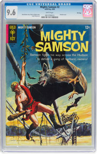 Mighty Samson #2 File Copy (Gold Key, 1965) CGC NM+ 9.6 White pages