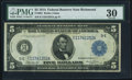 Fr. 861 $5 1914 Federal Reserve Note PMG Very Fine 30