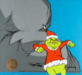 Animation Art:Production Cel, Dr. Seuss' How the Grinch Stole Christmas Grinch ProductionCel Setup (MGM 1966). ...
