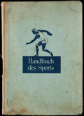 "Olympic Cards:General, 1932-1933 Sanella Margarine ""Handbuch des Sports"" Complete Set InAlbum. ..."