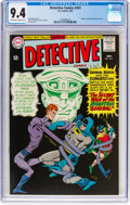 Silver Age (1956-1969):Superhero, Detective Comics #343 (DC, 1965) CGC NM 9.4 Off-white to whitepages....