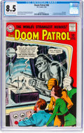 Silver Age (1956-1969):Superhero, Doom Patrol #86 (DC, 1964) CGC VF+ 8.5 Cream to off-white pages....