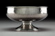 A Whiting Aesthetic Movement Partial Gilt Silver Hand-Hammered Bowl, New York, circa 1880 Marks: STERLING, (W-griffin)...
