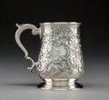 Silver & Vertu:Hollowware, A George II Thomas England Silver Cup, London, 1747. Marks: (lion pasant), (crowned leopard), m, TE. 4-7/8 inches (12.4 ...
