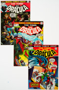 Bronze Age (1970-1979):Horror, Tomb of Dracula #11-70 Group (Marvel, 1973-79) Condition: AverageVF.... (Total: 66 Comic Books)
