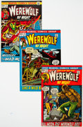 Bronze Age (1970-1979):Horror, Werewolf by Night #1-43 Near-Complete Series Group (Marvel,1972-77) Condition: Average VF....