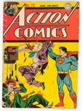 Golden Age (1938-1955):Superhero, Action Comics #73 (DC, 1944) Condition: GD....