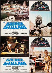 "Star Wars (20th Century Fox, 1977). Italian Photobusta Set of 10 (26.5"" X 18.75""). Science Fiction. ... (Total..."