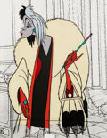 Animation Art:Color Model, 101 Dalmatians Cruella De Vil Color Model Cel (Walt Disney,1961)....