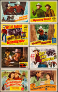 "Movie Posters:Western, Stagecoach to Monterey & Others Lot (Republic, 1944). TitleLobby Cards (3) & Lobby Cards (8) (11"" X 14""). Western.. ...(Total: 11 Items)"