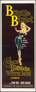 """Movie Posters:Foreign, Come Dance with Me! (Kingsley International, 1960). Insert (14"""" X 36""""). Foreign.. ..."""