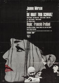 "Movie Posters:Foreign, The Bride Wore Black (United Artist, 1968). German A1 (23.25"" X 33""). Foreign.. ..."