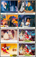 "Movie Posters:Animation, Fantasia & Others Lot (RKO, R-1956). Lobby Cards (4) &International Lobby Crds (4) (11"" X 14""). Animation.. ... (Total: 8Items)"