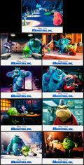 """Movie Posters:Animation, Monsters, Inc. (Buena Vista, 2001). International Lobby Card Set of 9 (11"""" X 14""""). Animation.. ... (Total: 9 Items)"""