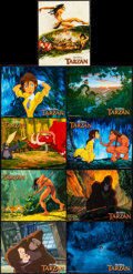 "Movie Posters:Animation, Tarzan (Buena Vista, 1999). Lobby Card Set of 9 (11"" X 14""). Animation.. ... (Total: 9 Items)"