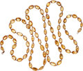 Estate Jewelry:Necklaces, Citrine, Rose Gold Necklace. ...