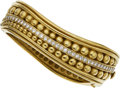 Estate Jewelry:Bracelets, Diamond, Gold Bracelet, Kieselstein-Cord Bracelet . ...