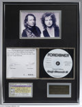 Music Memorabilia:Autographs and Signed Items, Foreigner Autographed CD. Quite a few arena rock acts of the '70sfound the transition into the '80s very difficult, but For...