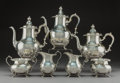 Silver Holloware, American:Tea Sets, A Seven-Piece Gorham Mfg. Co. Strasbourg Pattern Silver Teaand Coffee Service, Providence, Rhode Island, 1957/1... (Total: 7Items)