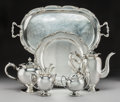 Silver Holloware, South American:Holloware, A Six-Piece Camusso Silver Tea and Coffee Service, Lima, Peru, 20thcentury . Marks: INDUSTRIA PERUANA PLATA ESTERLINA 925...(Total: 6 Items)