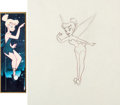 Animation Art:Production Drawing, Peter Pan Tinker Bell Animation Drawing (Walt Disney, 1953)....
