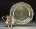 Silver & Vertu:Hollowware, A Tiffany & Co. Gilt Silver Child's Cup and Plate, New York, 1892-1907. Marks: TIFFANY & CO, MAKERS, STERLING SILVER, 925-... (Total: 2 Items)