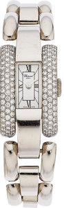Estate Jewelry:Watches, Chopard Lady's Diamond, La Strada White Gold Watch. ...
