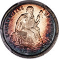 Proof Seated Dimes, 1868 10C Misplaced Date PR67 Cameo PCGS Secure. F-105, High R.4....