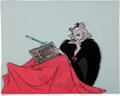 Animation Art:Production Cel, 101 Dalmatians Cruella De Vil Production Cel (Walt Disney,1961)....