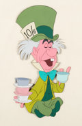 Animation Art:Production Cel, Alice in Wonderland Mad Hatter Production Cel (Walt Disney, 1951)....