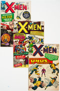 Silver Age (1956-1969):Superhero, X-Men Group of 6 (Marvel, 1964-68) Condition: Average VG+....(Total: 6 Comic Books)