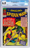 Silver Age (1956-1969):Superhero, The Amazing Spider-Man #11 (Marvel, 1964) CGC FN 6.0 Off-white towhite pages....