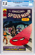 Silver Age (1956-1969):Superhero, The Amazing Spider-Man #22 (Marvel, 1965) CGC VF- 7.5 Whit...