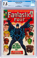 Silver Age (1956-1969):Superhero, Fantastic Four #46 (Marvel, 1966) CGC VF- 7.5 Off-white to...