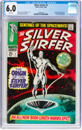 Silver Age (1956-1969):Superhero, The Silver Surfer #1 (Marvel, 1968) CGC FN 6.0 White pages...