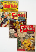 Silver Age (1956-1969):Superhero, Tales of Suspense #41, 42, and 58 Group (Marvel, 1963-64)....(Total: 3 Comic Books)