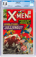 Silver Age (1956-1969):Superhero, X-Men #12 (Marvel, 1965) CGC VF- 7.5 Off-white pages.