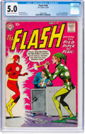 Silver Age (1956-1969):Superhero, The Flash #106 (DC, 1959) CGC VG/FN 5.0 Cream to off-white pages....