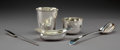 Silver & Vertu:Hollowware, A Paul Storr Partial Gilt Silver Pap Boat with Four English and Continental Silver Table Articles, late 18th-19th centuries... (Total: 5 Items)
