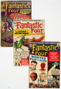 Silver Age (1956-1969):Superhero, Fantastic Four Group of 5 (Marvel, 1962-68).... (Total: 5 ComicBooks)