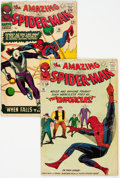 Silver Age (1956-1969):Superhero, The Amazing Spider-Man #10 and 36 Group (Marvel, 1964-65)Condition: Average GD-.... (Total: 2 Comic Books)
