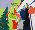"Animation Art:Limited Edition Cel, Dr. Seuss' How the Grinch Stole Christmas ""You Really Are aHeel!"" Limited Edition Cel #68/100 (MGM/Chuck Jones, 2000)..."