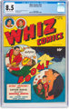 Whiz Comics #78 (Fawcett Publications, 1946) CGC VF+ 8.5 Off-white to white pages