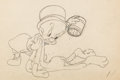 Animation Art:Production Drawing, An Itch in Time Elmer Fudd Animation Drawing (WarnerBrothers, 1945)....