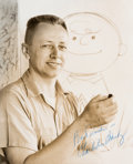 Animation Art:Photograph, Peanuts - Charles Schulz Signed Photograph (Bill Melendez, 1950s)....