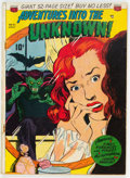 Golden Age (1938-1955):Horror, Adventures Into The Unknown #21 (ACG, 1951) Condition: Apparent GD....
