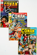 Bronze Age (1970-1979):Adventure, Conan the Barbarian Group of 29 (Marvel, 1970-79) Condition: Average FN-.... (Total: 29 Comic Books)