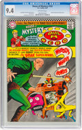 Silver Age (1956-1969):Superhero, House of Mystery #165 (DC, 1967) CGC NM 9.4 Off-white page...