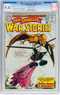 Silver Age (1956-1969):War, Star Spangled War Stories #115 (DC, 1964) CGC NM 9.4 Off-white pages....